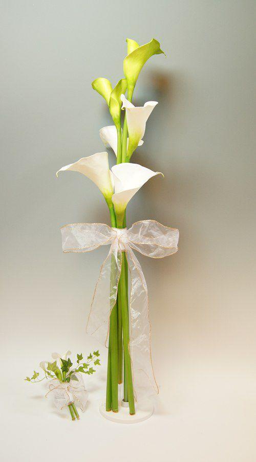 生花にそっくり  造花のブーケ  ラインタイプのブーケ