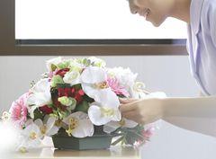 入院 病院 見舞い 花 アートフラワー