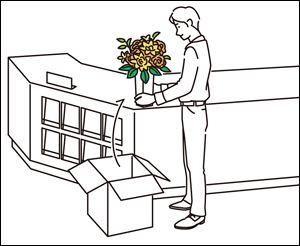 リース 手順 レンタル 造花 アートフラワー