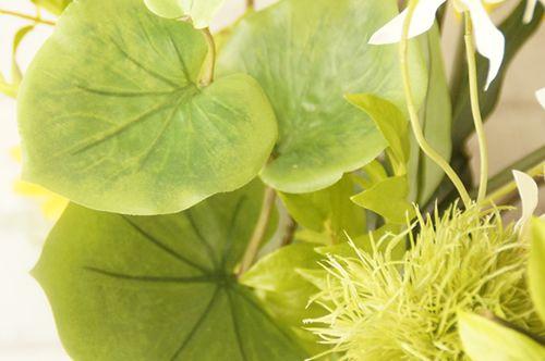 アートフラワー 造花 グリーン アーティフィシャル