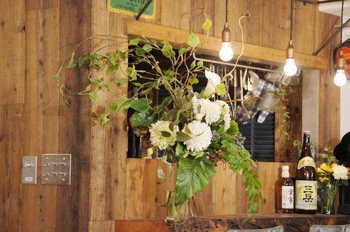リノベーション 祝い 造花 アートフラワー あーかんび