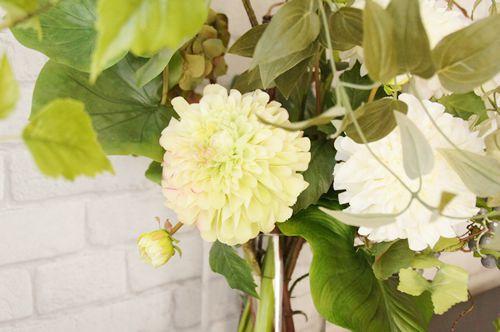 リノベーション ハイクオリティ 造花 アートフラワー あーかんび