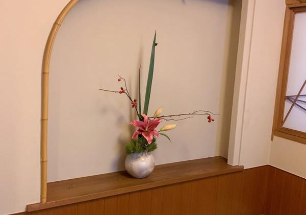 造花 アートフラワー 和モダン 料亭 和室