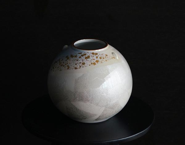造花 アートフラワー 手持ち花器 花瓶