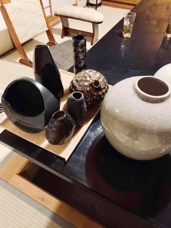 福虎 赤坂 料亭 造花 花瓶