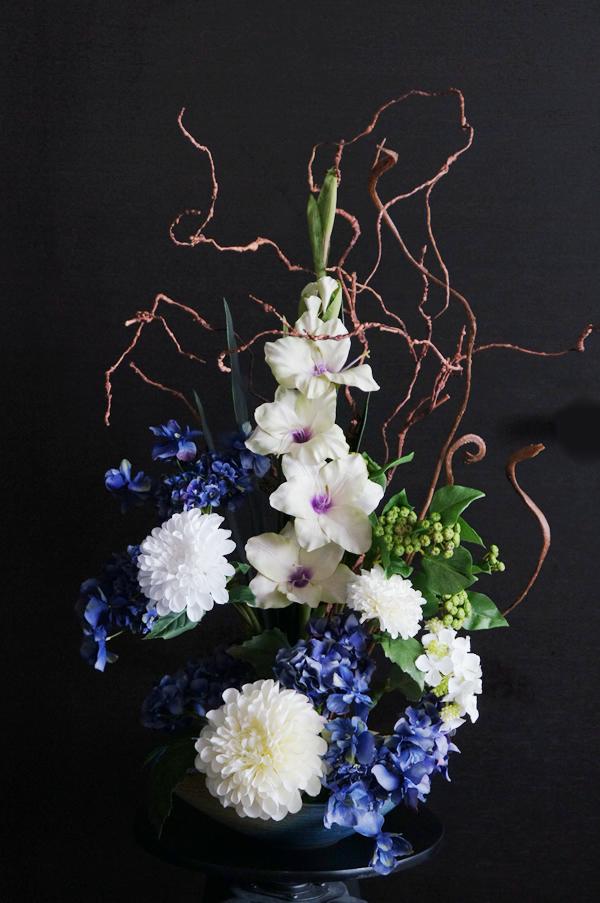 和風アレンジメント 造花 アートフラワー 和室 床の間