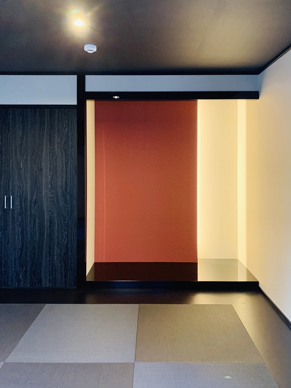 床の間 和モダン スタイリッシュ 和室