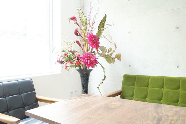 オフィス オシャレ 造花 アートフラワー Lサイズ
