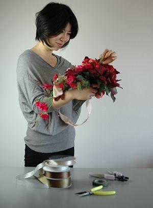 寺井宏美 アートフラワーデザイナー フォトスタイリスト いけばなアートフラワーデザイナー