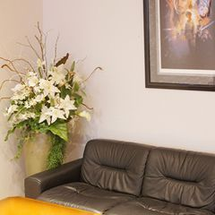 社長室 ビジネスユース 造花 アレンジメント アートフラワー