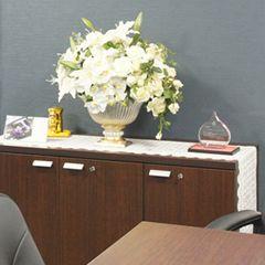 社長室 レンタル リース 造花 アートフラワー