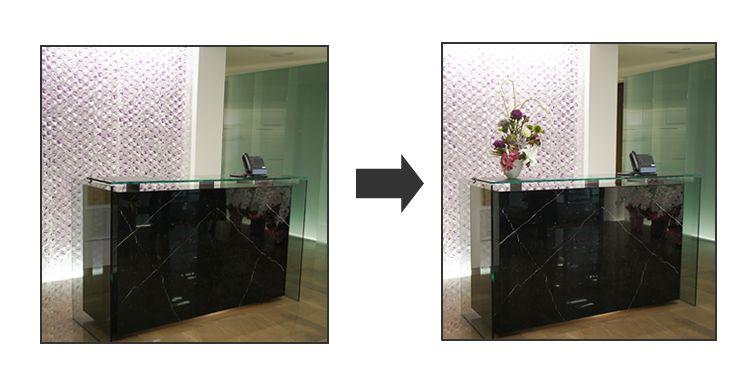 造花リースサービス 造花レンタル
